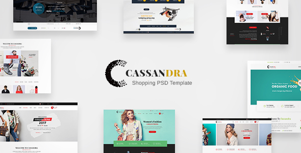 Cassandra Shopping - Multipurpose e-commerce PSD Template