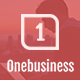 Onebusiness - One Page HTML Template