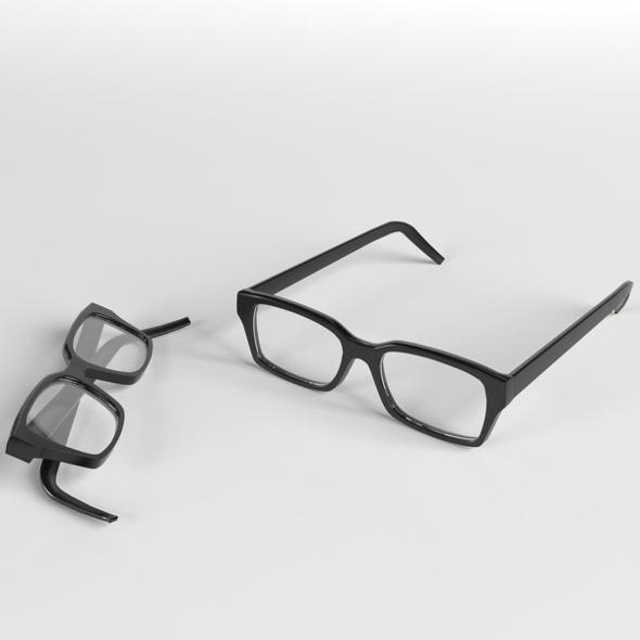 3DOcean Glasses 2 19696916