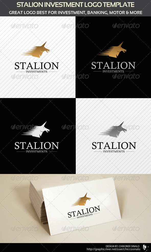 Stalion Investment Logo Template  - Abstract Logo Templates