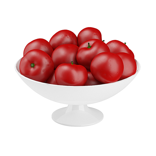 Bowl of Tomatoes - 3DOcean Item for Sale