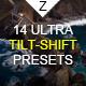 14 Ultra Tilt-Shift Ligtroom Presets