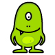 Funny Monster - GraphicRiver Item for Sale