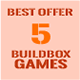 "5BuildBox Games with Admob | Chartboost | Leaderboard and No Ads ""In App Purchase"""