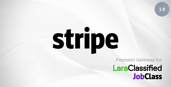 Stripe Payment Gateway Plugin for LaraClassified and JobClass (Add-ons)