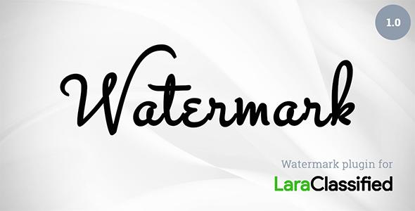Watermark Plugin for LaraClassified