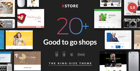 XStore - Responsive eCommerce HTML Template