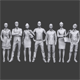 Lowpoly People Casual Pack Vol.9
