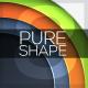 Pure Shape Infographic. Set 8