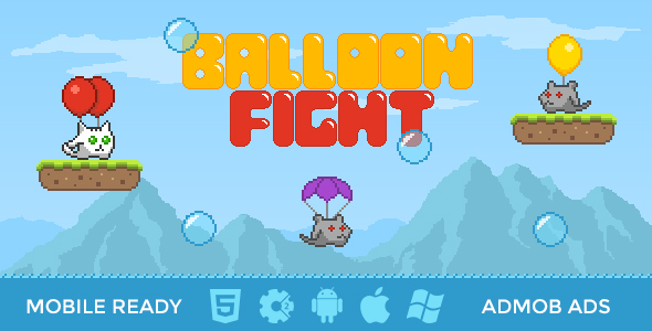 Balloon Fight - HTML5 Mobile Game