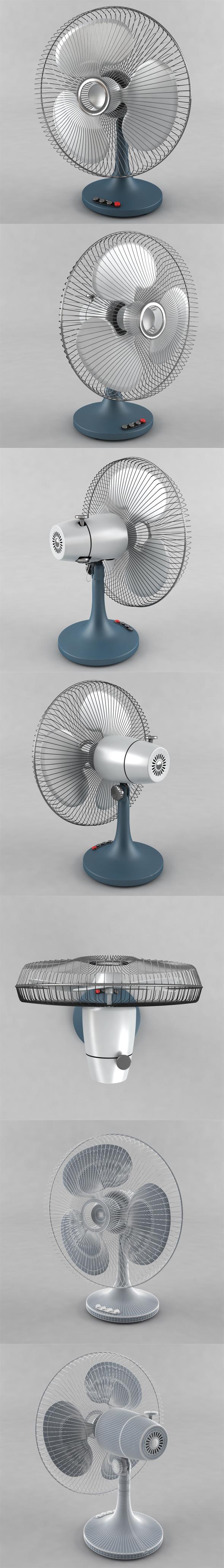 Table fan - 3DOcean Item for Sale