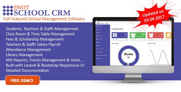 SWOT SCHOOL- School Management Software ← Laravel-VueJs com