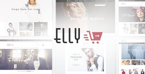 Elly - Multipurpose Responsive Prestashop Theme