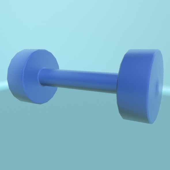 3DOcean Dumbbell 1 19705448