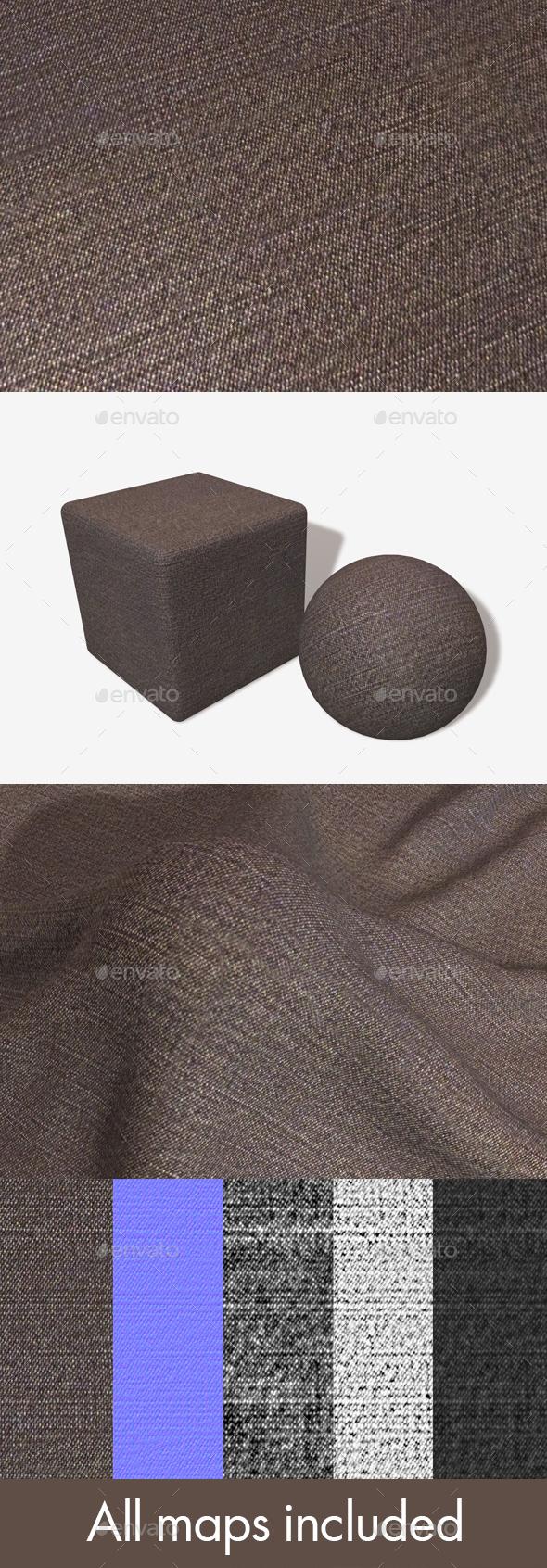 Dark Brown Denim Seamless Texture - 3DOcean Item for Sale