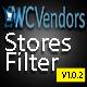 WCVendors Store Filter