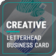 Creative Business Card & Letterhead