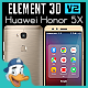 Huawei Honor 5X for Element 3D