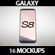 SmartPhone Galaxy S8 2017 App MockUp vol.2