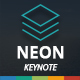 Neon Keynote Template