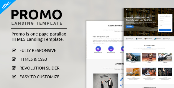 Image of Promo - Multipurpose Landing Page