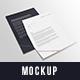 Letter A4 Mockup