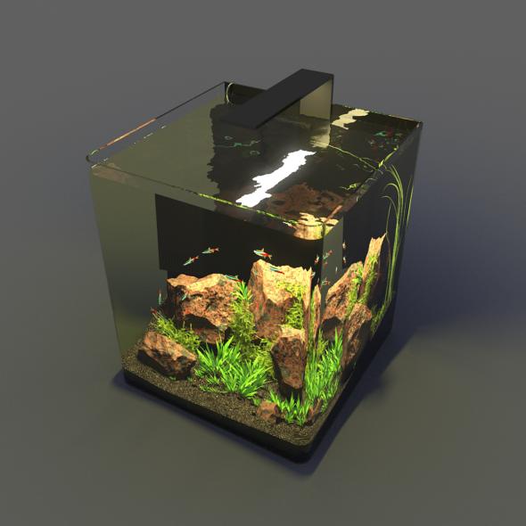 Aquarium Nano - 3DOcean Item for Sale
