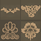 15 High Poly Decorating Ornaments Sculpt Pattern_Vol-1