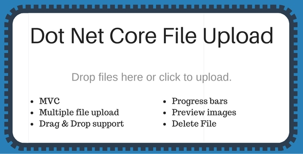 Dot net core file upload