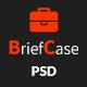 BriefCase-Modern Creative Portfolio PSD Template
