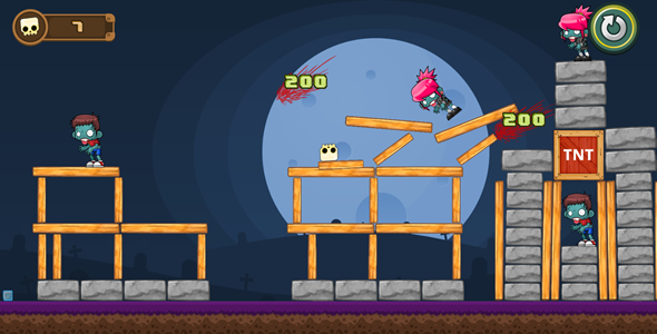 CodeCanyon Angry Zombies HTML5 Game Capx 19709546