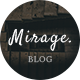 Mirage - Personal Blog PSD Template