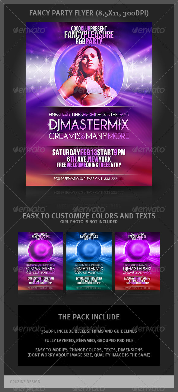 Fancy Party Flyer - Clubs & Parties Events