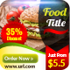 Restaurant Food Banner Ads
