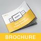 A5 Landscape Web Design Brochure