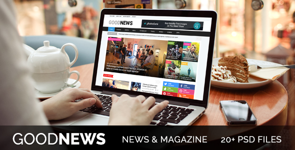 Good News - Newspaper, Magazine & Blog Template