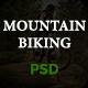 Mountain Biking PSD Template