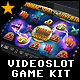 Videoslot Graphics Game Kit - Zodiac Space Adventure
