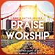 Praise And Worship - Church Flyer