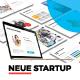 Neue Startup Presentation Template