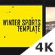 Winter Sports Template