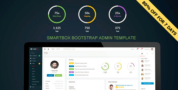 Smartbox - Bootstrap Admin Dashboard Template