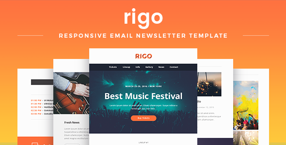 Rigo - Responsive Email Newsletter Template