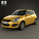 Suzuki Swift hatchback 5-door 2014