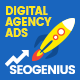 SEO Genius Digital Agency - Animated HTML5 Google Banner Ad Templates