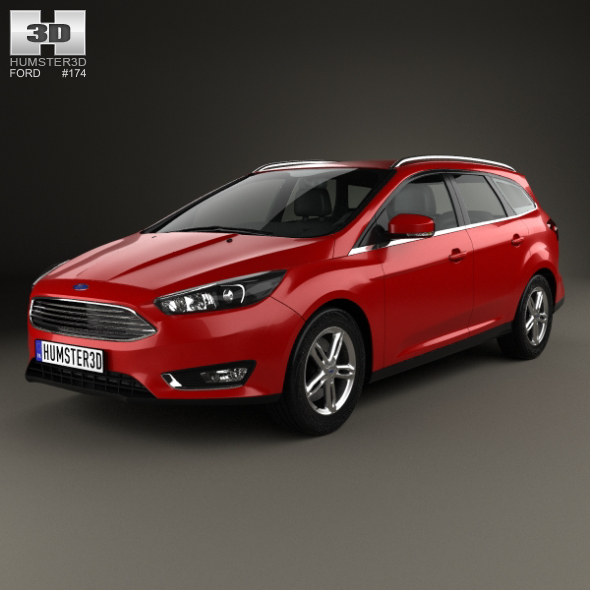 Ford Focus turnier 2014 - 3DOcean Item for Sale