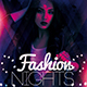 Fashion Nights Party Flyer