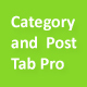 Category and Post Tab Pro