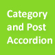 Category and Post Accordion Panel Pro