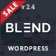 Blend - Multi-Purpose Responsive WordPress Theme